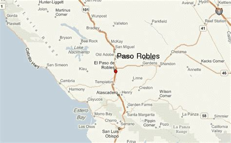 where is el paso located in california usa paso robles location guide
