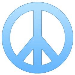 peace sign templates clipart best