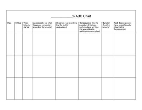 reward chart printable template abc behaviour chart
