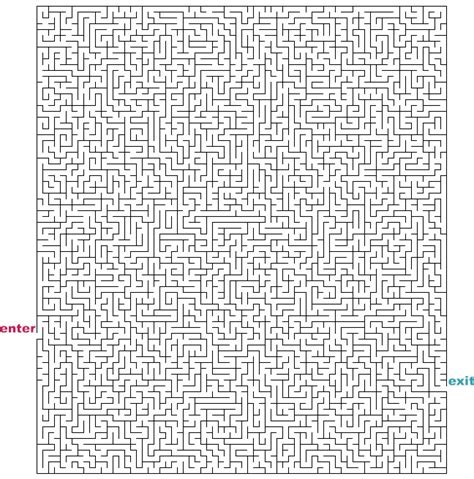 printable mazes challenging challenging printable mazes pictures to pin on pinterest