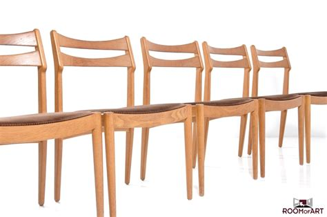 set of 6 dining chairs by vamo sonderborg room of art