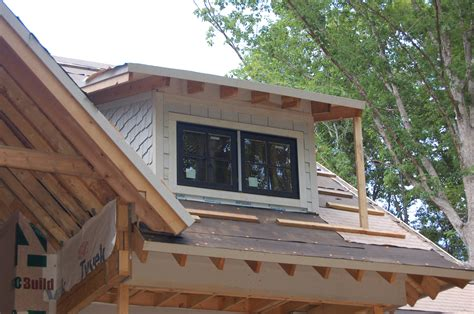 Shed Dormer Construction by S L O W Motion Modern Craftsman Style Home