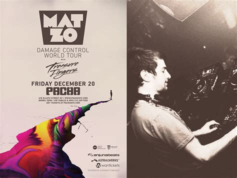 Mat Zo Discography by Mat Zo S Damage World Tour Pays A Visit To Pacha Nyc