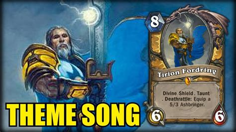 Gitar Motif Paladin tirion fordring theme song hearthstone chords chordify