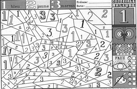 Coloriage Magique Gs Maths