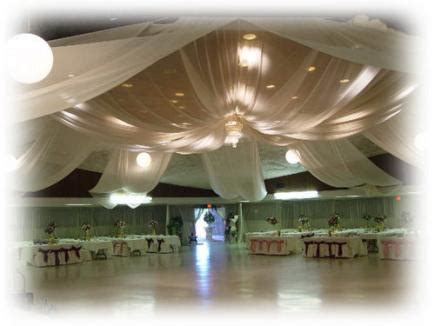 Ceiling Canopies by Wedding Decoration Affordably Beautiful Wedding Backdrops