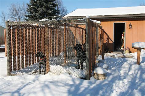 garage dog kennel diy dog kennel construction guide