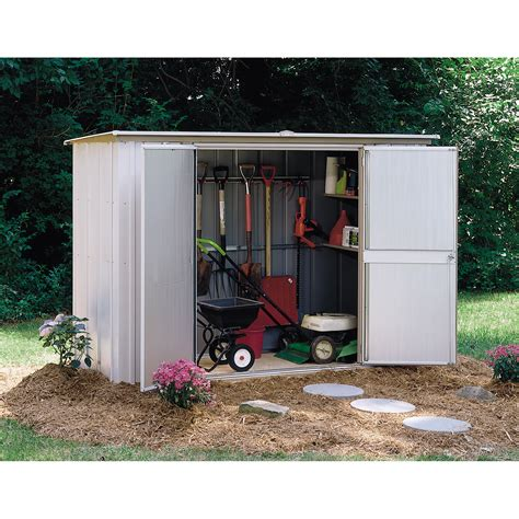 Sears Tool Shed by Deck Storage Find Outdoor Storage Options At Sears