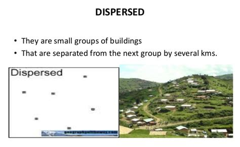 types and pattern of urban settlement types of settlement