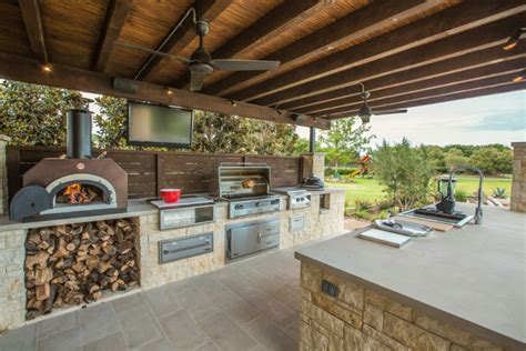 covered outdoor kitchen plans 30 outdoor kitchen designs ideas design trends