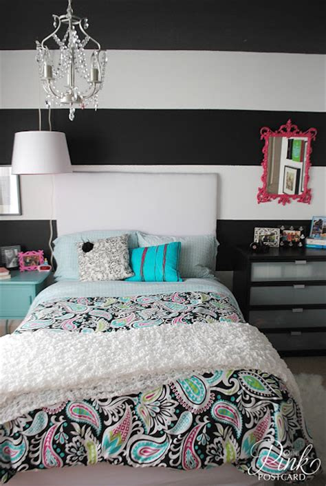 black and white bedroom with a pop of color black and white bedroom with a pop of color at home