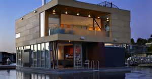 Small Home Architects Seattle Luxurious Floating Home Makes The Most Of Its Small