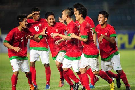 pemain indonesia timnas u 19 tundukkan laos 4 0 republika