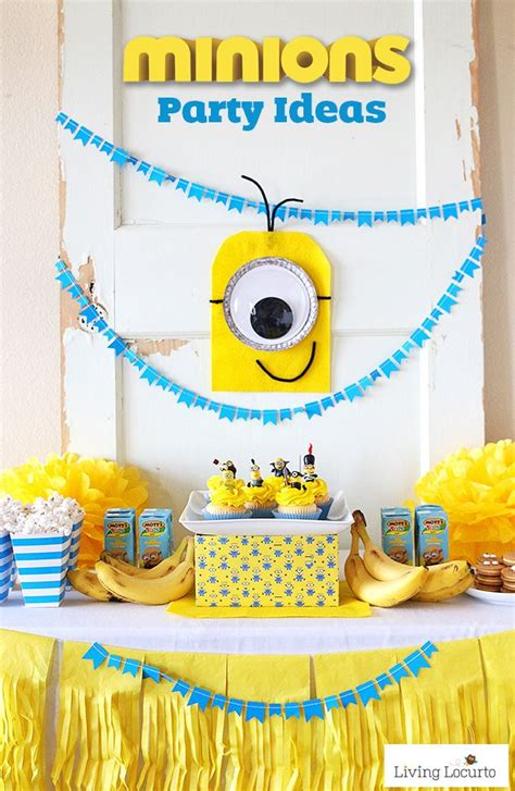 birthday themes minions 407 best images about minion party theme on pinterest