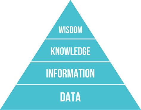 The Answer Is A And Management Wisdom Soft Cover dikw pyramid
