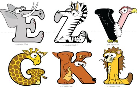 printable safari animal letters 10 safari animal font images zoo animal alphabet letters
