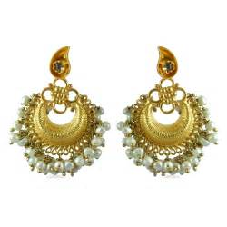 new brands wedding bridal gold earrings designs 2013 15