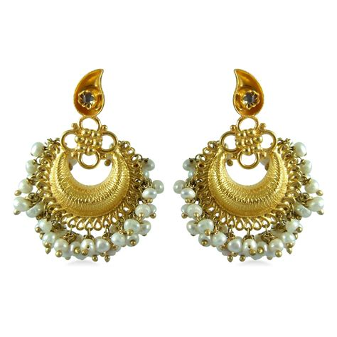 Ohrringe Gold Hochzeit by New Brands Wedding Bridal Gold Earrings