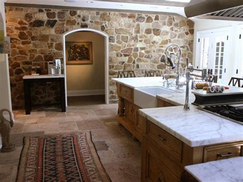 Island Lighting For Kitchen by How To Bring Natural Stone Into Your Interior Design