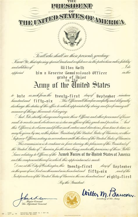army promotion certificate template swearing in of officers ceremony invitations just b cause