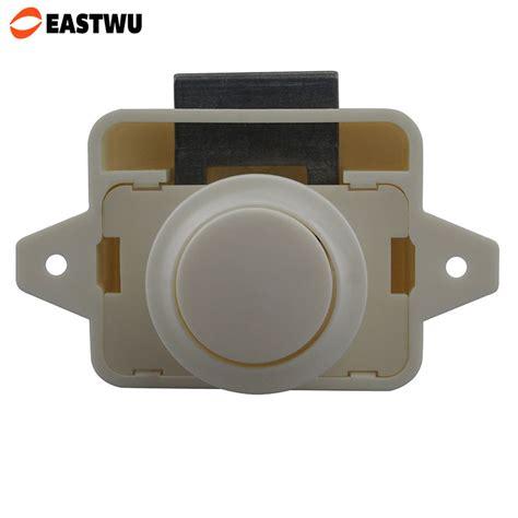 10pcs 1 lot eastwu push button cabinet lock for ambulance