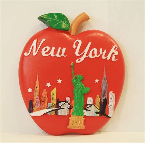 bid now big apple new york city souvenir magnet gift gifts