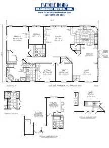 Mobile Homes Floor Plans by Manufactured Triple Wide Layouts Manufactured Home Floor