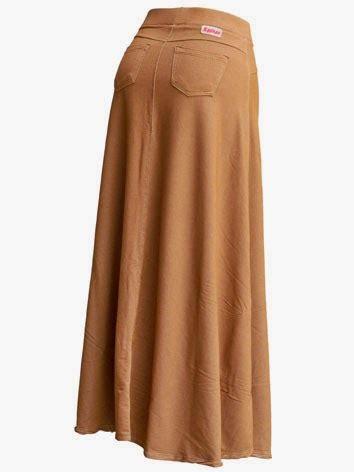 Busana Wanita Gc Maxi Orinawa nqc store rok panjang payung denim satu