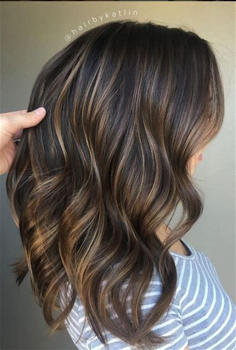 balayage highlights for older women perfectly blended brunette balayage highlights beautify