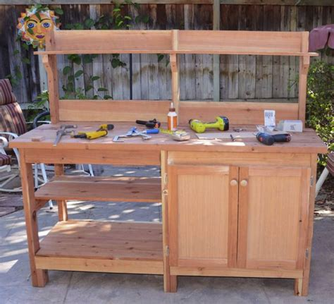 potting benches with storage 40 best images about home organize on pinterest outdoor