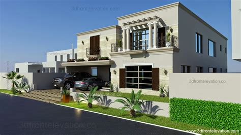 architectural design of 1 kanal house 3d front elevation com 1 kanal spanish house design plan