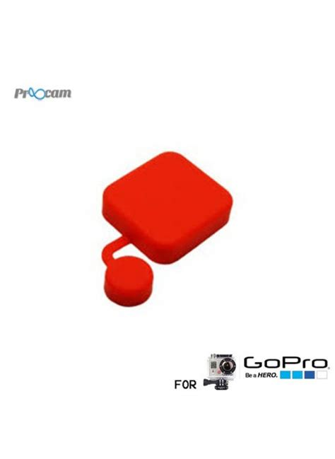 Gopro 5 Silicone Silikon Silicon Lens Cap Cover proocam pro j118 rd silicon cap for gopro waterproof