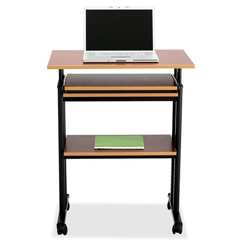 height of stand up desk safco muv stand up adjustable height desk saf1929cy