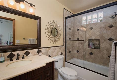 Small Bathroom Shower Remodel Ideas by Design Build Bathroom Remodel Pictures Arizona Contractor