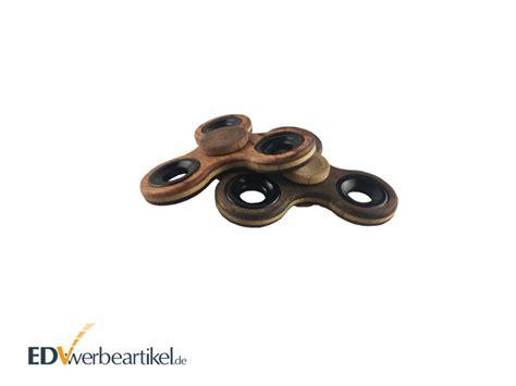 Fidget Spinner Aus Holz fidget spinner als werbeartikel aus holz mit logo gravieren