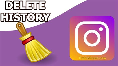 How To Delete From Instagram Search How To Delete Instagram Search History Clear Search On Instagram