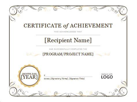 Word Certificate Template   44  Free Download Samples