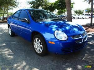 Blue Dodge Neon 2005 Dodge Neon Sxt In Electric Blue Pearlcoat 280373