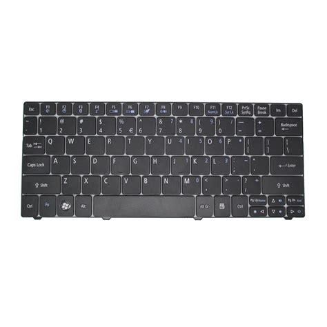 Keyboard Laptop Acer Aspire One 722 keyboard acer aspire one 721 722 753h white frame black jakartanotebook