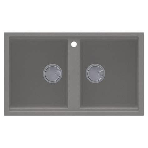 Grey Granite Kitchen Sink Reginox Best 450 2 0 Bowl Grey Granite Sink Sinks Taps