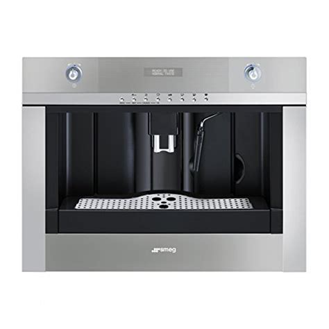 einbau kaffeevollautomat test smeg cmsc 45 einbau kaffeevollautomat kaffeemaschine im test