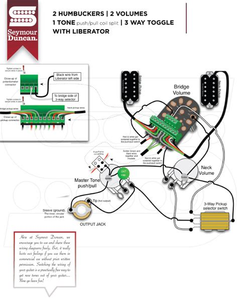 duncan liberator wiring diagram efcaviation