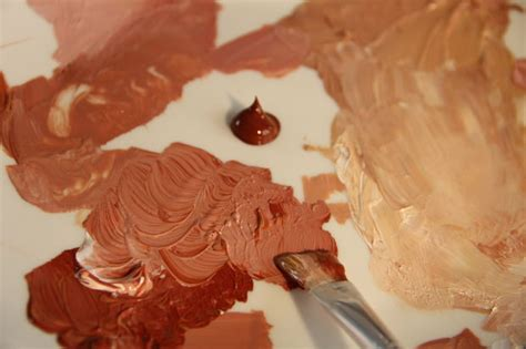 acrylic paint skin color how to paint skin tones all