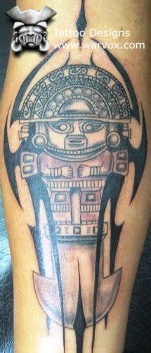 peruvian tattoos designs tumi 187 aztec tattoos aztec mayan inca