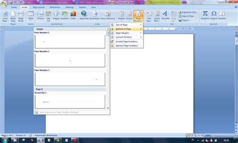 cara membuat halaman pada lembar kerja microsoft word 2010 cara menilkan format halaman yang berbeda dalam satu