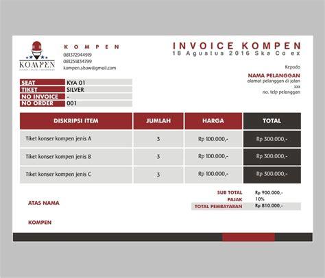 Contoh Kuitansi Dengan Logo by Sribu Desain Kartu Nama Kop Surat Desain Kwitansi