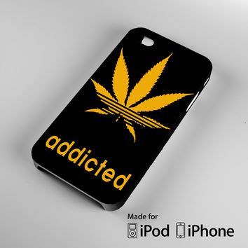 Addicted Cannabis Leaf Dope Adi Logo A1607 Casing Samsung nike kid s roshe run gs floral from kickzstore