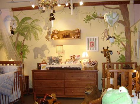 Jungle Themed Home Decor by Ideas For Decorating Baby Room Decoration Ideas
