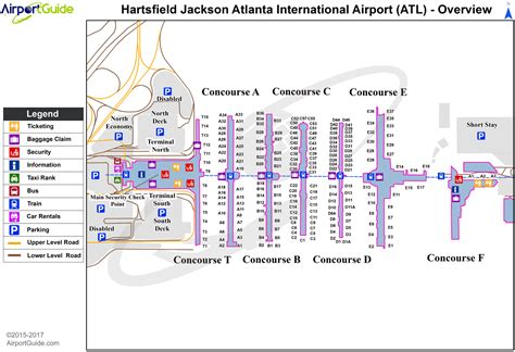 atl terminal map atlanta hartsfield jackson atlanta international atl airport terminal maps travelwidget