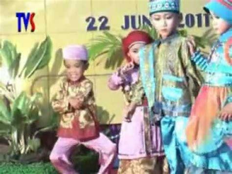Sho Anak fashion show busana muslim anak anak lucu perpisahan tk